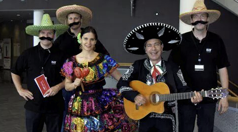 Authentieke mexicaanse performance