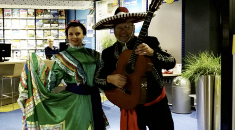 Mariachis voor privediners